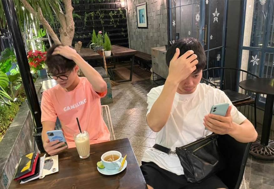 Công Phượng cafe tán gẫu với Văn Toàn, Đặng Văn Lâm bình luận một câu nghe thấy thương-2