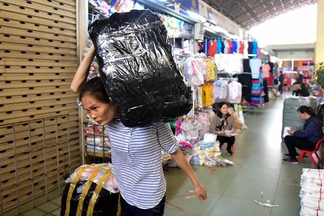 Khung cảnh chưa từng có tại chợ đầu mối lớn nhất Hà Nội-8