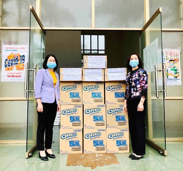 Mondelez Kinh Đô trao hàng nghìn sản phẩm tiếp sức vùng dịch-2