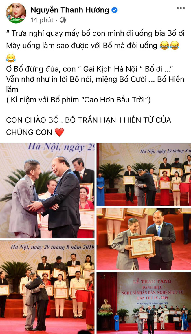 Sao Việt xót thương khi hay tin NSND Trần Hạnh qua đời-2