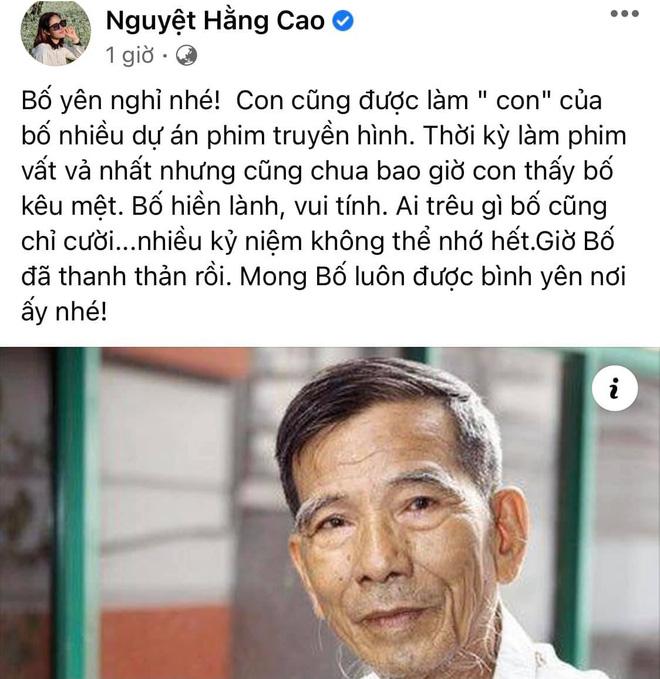 Sao Việt xót thương khi hay tin NSND Trần Hạnh qua đời-4