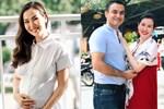 Lần đầu làm mẹ Võ Hạ Trâm khóc òa vì quá hạnh phúc, chồng doanh nhân Ấn Độ được lên chức lại mắc cỡ