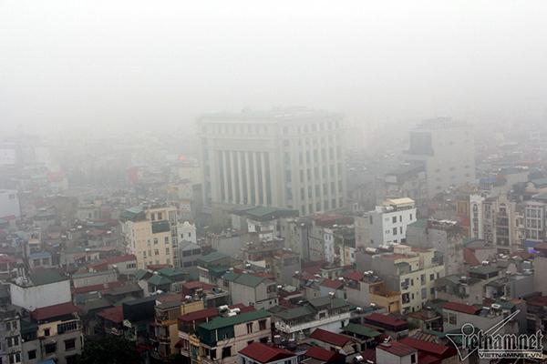 Dự báo thời tiết 5/3, sương mù bao phủ miền Bắc-1