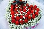 Ngắm bó hoa dâu tây đỏ mọng hấp dẫn với mức giá không hề rẻ, chủ nhân bó hoa ngẩn tò te khi rút ra ăn thấy toàn mùi hôi thối-3