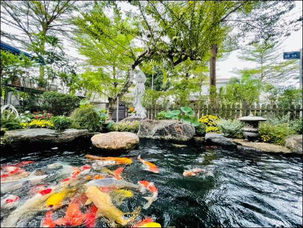 Biệt thự triệu đô hoành trángcủa Nhật Kim Anh: Bốnmùa ngập tràn hoa tươi từ nhà ra ngõ-16