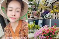 Biệt thự triệu đô hoành trángcủa Nhật Kim Anh: Bốnmùa ngập tràn hoa tươi từ nhà ra ngõ