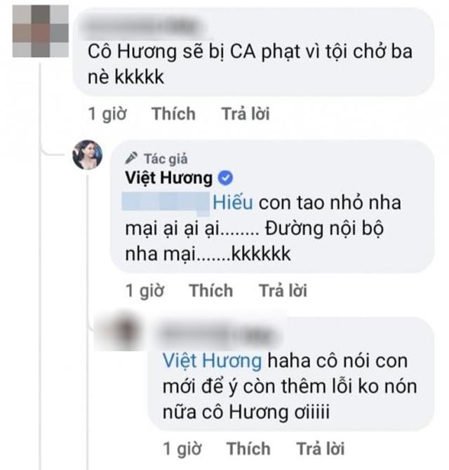 Hình ảnh danh hài Việt Hương đi du lịch cùng chồng con gây tranh cãi-4