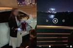 Clip dừng ô tô trên cầu Trần Thị Lý để 'tỏ tình' lãng mạng với vợ gây sốt MXH, nam thanh niên bị phạt hành chính