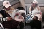 Người phụ nữ nghèo ngồi ôm khư khư bọc nilon ở bến xe, lại gần nhìn thấy thứ trong chiếc túi người dân hoảng hốt báo cảnh sát ngay lập tức