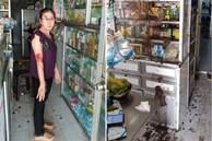 Nữ chủ tiệm thuốc tây bị 'khủng bố' bằng sơn, mắm tôm vì em trai mượn tiền 'giang hồ' không trả