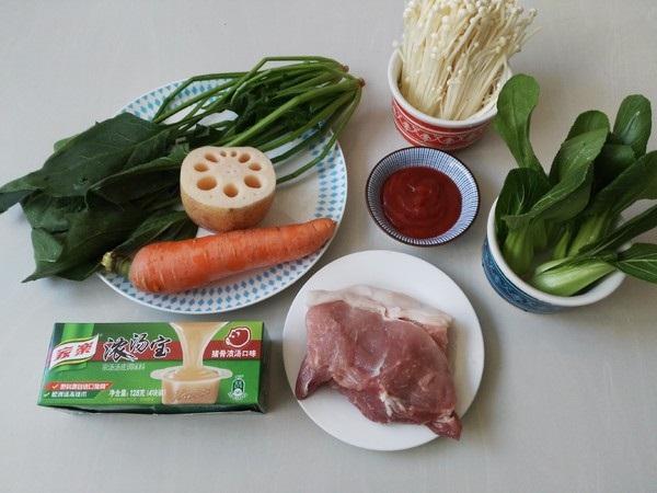 Cách nấu lẩu thịt viên rau củ, ngọt nước, thơm lừng-2
