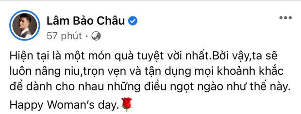 Cuối cùng Lâm Bảo Châu cũng tiết lộ món quà 8/3 đắt giá cho Lệ Quyên, còn dẻo miệng thế này hỏi sao chị đẹp chết mê chết mệt-2