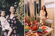 Phạm Hương, Kim Hiền lấy chồng, nuôi con trên đất Mỹ: Cùng ở nơi rộng rãi, thích thú làm vườn