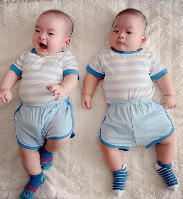 Tiết lộ tên thật của cặp sinh đôi nhà Hồ Ngọc Hà, Đặng Thu Thảo và loạt em bé nhà sao Việt mới chào đời-5