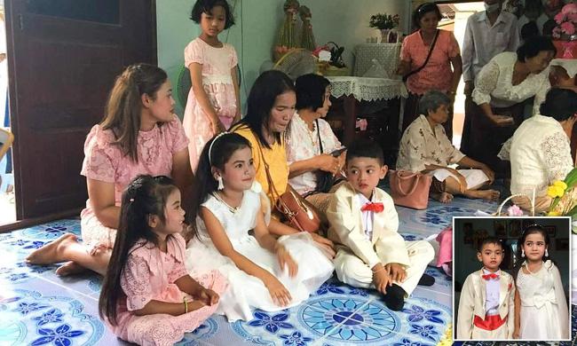 Cô dâu, chú rể nhí 5 tuổi được tổ chức lễ cưới linh đình xôn xao khắp vùng, sự thật về mối quan hệ của chúng là điều không tưởng-2