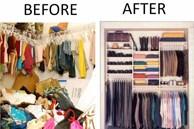 Mách bạn 4 bước đơn giản và nhanh chóng nhất để dọn dẹp tủ quần áo trong vòng 30 phút