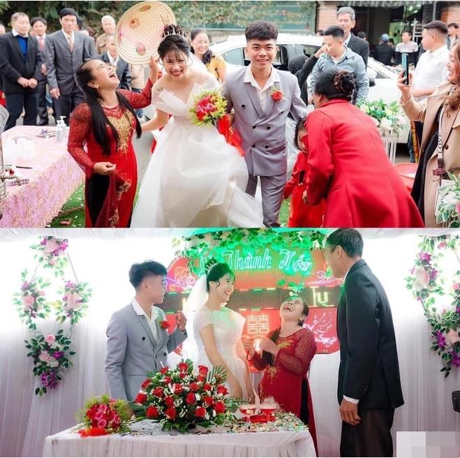 Ngày con trai lấy vợ, biểu cảm của mẹ chiếm trọn sự chú ý: Cười sung sướng từ lúc đón dâu về tới khi trao quà-1