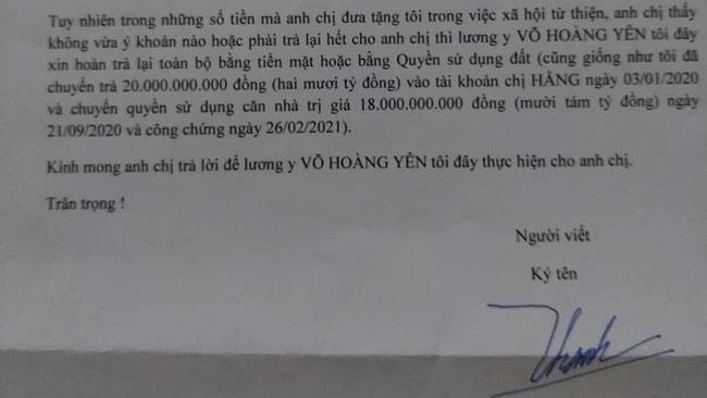 Căn nhà trị giá 18 tỷ mà lương y Võ Hoàng Yên xin trả lại để thỏa hiệp với vợ chồng ông Dũng lò vôi hiện giờ thế nào?-2