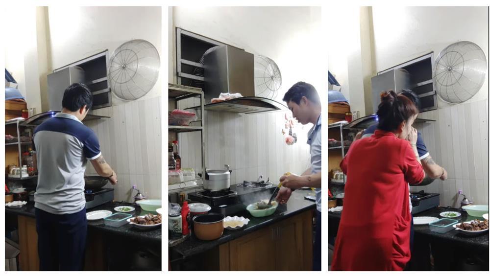 Cô dâu Cao Bằng 64 tuổi khoe được chồng trẻ 9X dắt đi chơi ngày lễ, còn tự tay đứng bếp cả tiếng để nấu cơm ngon cho vợ U70-4