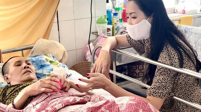 Trịnh Kim Chi đến viện thăm NS Hoàng Lan: Tôi xót xa và lo cho tình trạng hiện tại của chị Lan-2