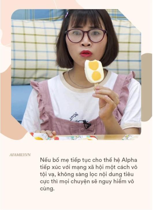Không chỉ những clip của Thơ Nguyễn ảnh hưởng xấu tới trẻ, nếu bố mẹ vẫn làm điều này với thế hệ Alpha thì còn độc hại gấp nghìn lần-2