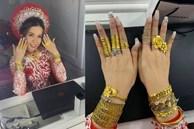 Cô dâu Cà Mau đeo hơn 20 cây vàng ngày cưới: 'Mình không có ý định khoe khoang, nhà mình mở tiệm vàng nên như thế là bình thường'
