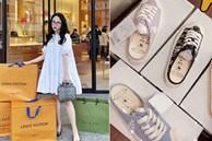 Đẳng cấp chịu chơi như Joyce Phạm: Đã shopping là phải xách cả núi hàng hiệu về nhà, mua 1 kiểu giày nhưng phải 5 đôi 5 màu mới chịu!