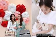 Phu nhân TGĐ Phan Thành đăng ảnh ôm chú chó định mệnh nhưng xem xong dân tình lại nghĩ cô có bầu?