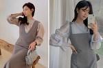 Để diện váy hai dây xịn đẹp level cao nhất, chị em hãy ngắm 12 set đồ này của gái Hàn-13