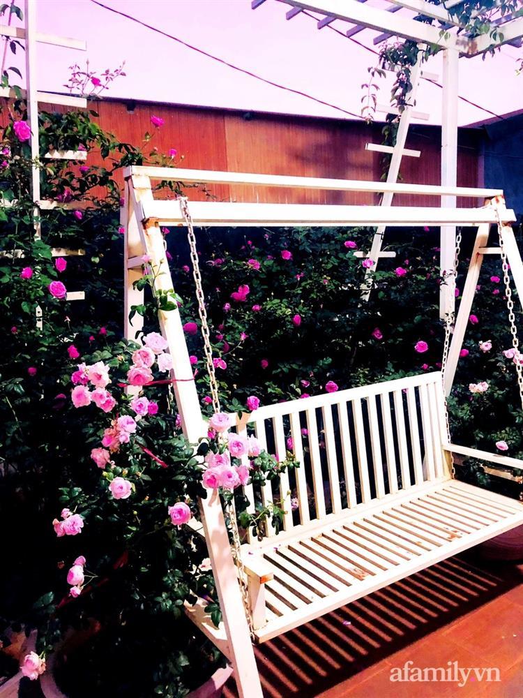 Bận rộn chăm sóc 3 con, bà mẹ đảm vẫn một tay thiết kế khu vườn đầy hoa đẹp như mơ ở Đắk Nông-20