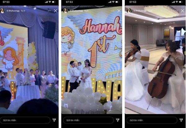 Cô dâu 200 cây vàng ở Nam Định tổ chức sinh nhật hoành tráng cho con gái nhưng nhan sắc đỉnh cao của bà ngoại mới đáng chú ý hơn cả-1