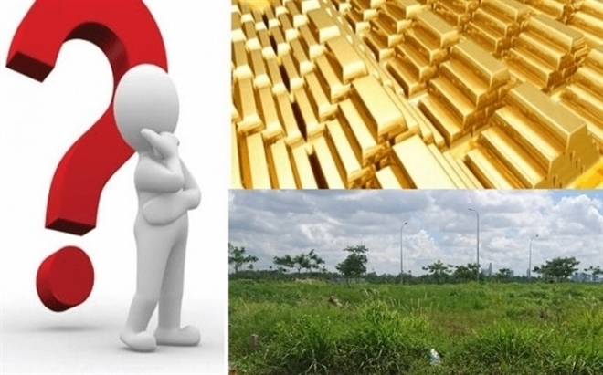 Giá vàng khó bứt phá, có nên bán vàng mua đất?-1