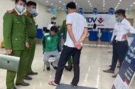 Đối tượng mặc áo Grab, mang theo súng và mìn cướp ngân hàng ở Hà Nội