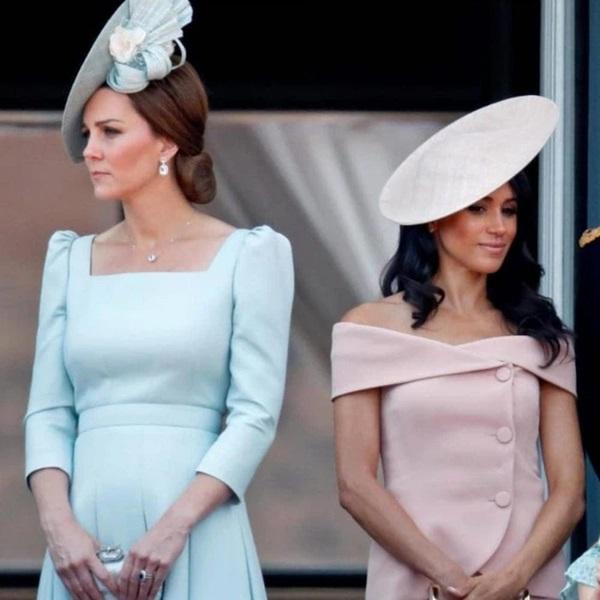 5 sự cố khiến chị em dâu Kate và Meghan vĩnh viễn không thể hàn gắn, drama vứt hoa vào sọt rác chưa là gì-1