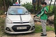 NÓNG: Lời khai đối tượng mặc áo Grab, mang theo súng và mìn cướp ngân hàng ở Hà Nội