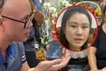 Hậu ồn ào, vợ Vân Quang Long lộ diện với đôi mắt sưng húp bên con gái, hình ảnh ngây thơ của bé Helen nhìn mà xót-7