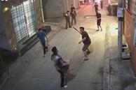 Người dân truy đuổi kẻ gây ra vụ nổ ở tiệm vàng