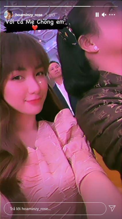 Hòa Minzy làm rõ mối quan hệ với mẹ chồng giàu có chỉ qua một tấm ảnh-1
