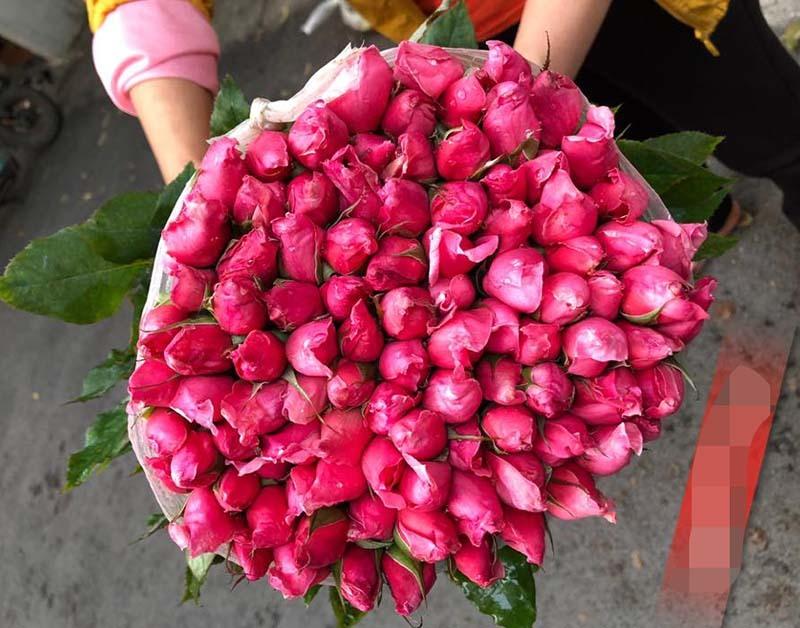 Hoa hồng lại rẻ như cho, ngồi nhà chốt bán 4 vạn bông/ngày-2