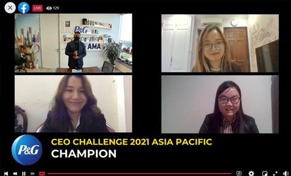 3 cô gái Việt Nam xuất sắc vào vòng chung kết toàn cầu 'P&G CEO Challenge 2021'-2