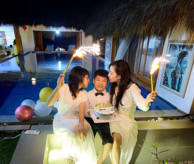 Vợ cũ cố NS Vân Quang Long tổ chức sinh nhật cho con trai, đáng chú ý nhất là thái độ của ái nữ sau liên hoàn biến cố-2