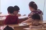 Clip: Cô giáo mầm non đánh, dúi đầu bé gái ngã ngửa ra sàn gây phẫn nộ-4