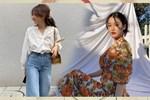 Học lỏm Hà Tăng, Thanh Hằng cùng loạt mỹ nhân Việt 1001 cách diện váy hoa đẹp đúng điệu-12