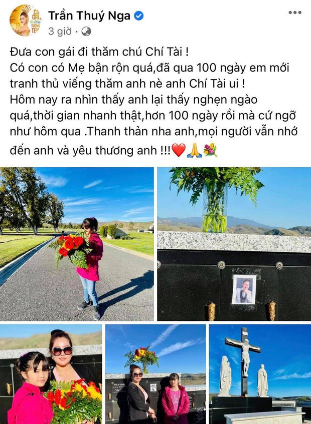 Lễ tưởng niệm 100 ngày cố NS Chí Tài: Ca sĩ Phương Loan tổ chức trang trọng ở Mỹ, Nhật Kim Anh đến thắp hương tại đền thờ 100 tỷ-6