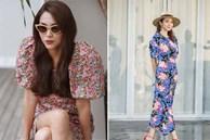 Học lỏm Hà Tăng, Thanh Hằng cùng loạt mỹ nhân Việt 1001 cách diện váy hoa đẹp đúng điệu