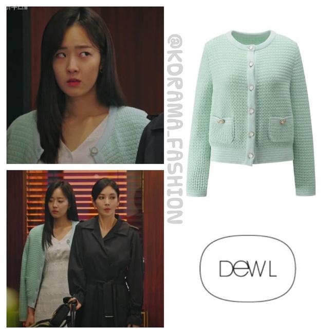 Tiểu thư mắt trợn Ha Eun Byeol có cả một bộ sưu tập váy điệu không Rich kid nào làm lại được trong Penthouse-4