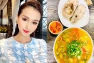 Nấu ăn siêu đỉnh như Lã Thanh Huyền: 'Cân đẹp' món canhchua cá hú chuẩn vị miền Tây, chị em học ngay để chiêu đãi chồng con