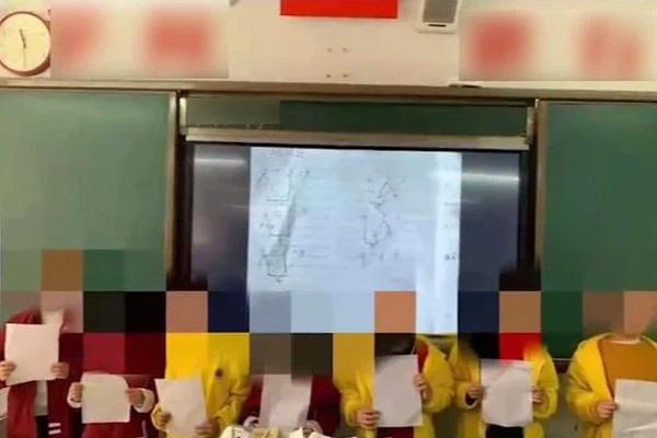 Gửi một bức ảnh vào nhóm chat, giáo viên khiến hội phụ huynh đỏ phừng mặt tức giận, Hiệu trưởng phải vội vàng xin lỗi-1