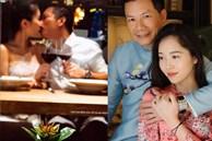 Bà xã Á hậu kém 16 tuổi của Shark Hưng khoe ảnh 'khóa môi' chồng giữa đêm cực kỳ lãng mạn