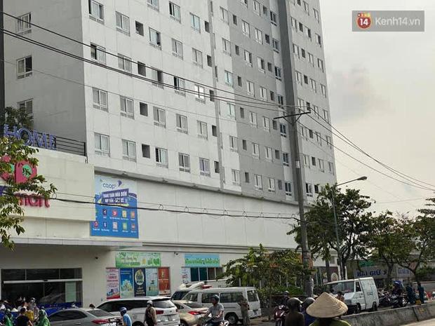 Vụ 2 cô gái trẻ rơi chung cư tử vong ở TP.HCM: Cư dân thấy 2 người mặc áo khoác đen đi thang máy lên sân thượng-2